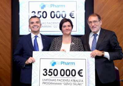 REPHARM Company donates € 350,000 to lymphoma patients